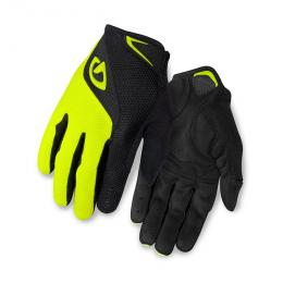 GIRO rukavice BRAVO LF-black/highlight yellow - zvětšit obrázek