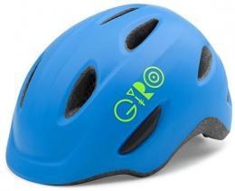 GIRO Scamp Mat Blue/Lime XS - zvětšit obrázek