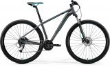Merida BIG.NINE 40 Matt Dark Silver(Blue/Blk)