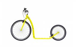 Koloběžka KOSTKA TOUR MAX (G6) Neon Lemon - zvětšit obrázek