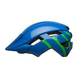 BELL Sidetrack II Youth Blue/Green - zvětšit obrázek