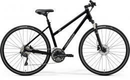 MERIDA CROSSWAY 300 LADY Glossy Black (Mat Silver) - zvětšit obrázek