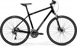 MERIDA CROSSWAY 500 Glossy Black(Matt Silver) - zvětšit obrázek