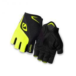 GIRO rukavice BRAVO-black/highlight yellow - zvětšit obrázek
