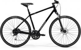 Merida CROSSWAY 100 Glossy Black(Matt Silver) - zvětšit obrázek