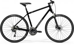 MERIDA CROSSWAY 300 Glossy Black(Matt Silver) - zvětšit obrázek